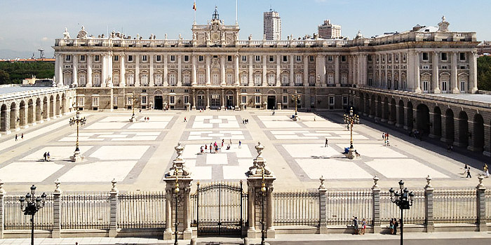 Мадрид королевский дворец