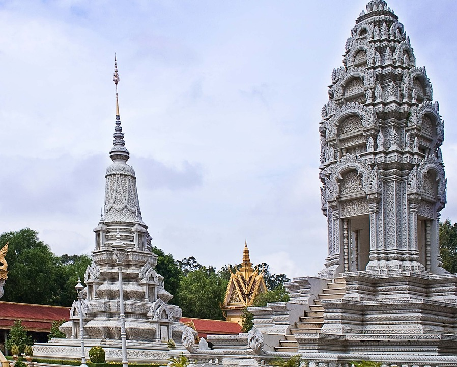 Пномпень Серебр Пагода