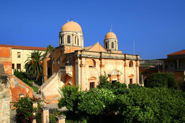 Agia Triada Monastery Crete